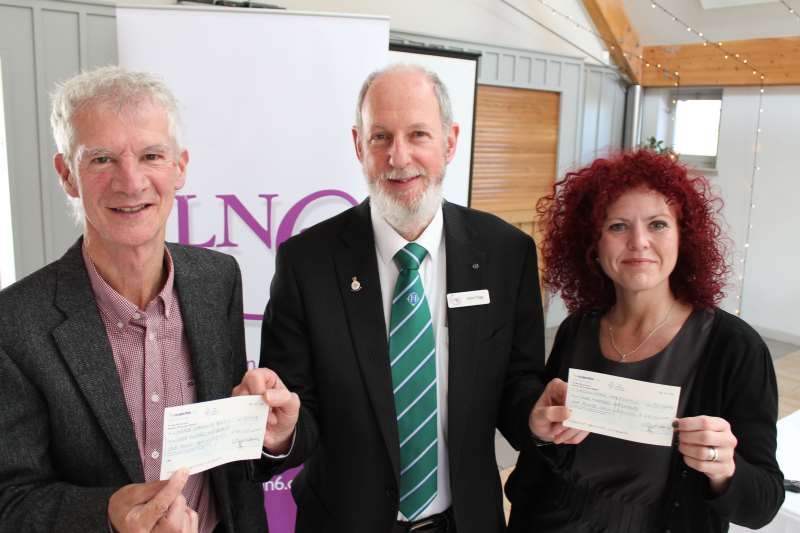 LN6 raises nearly £2k for two Lincoln charities
