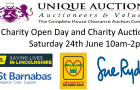 Unique Auctions Charity Open Day and Charity Auction Sat 24th June